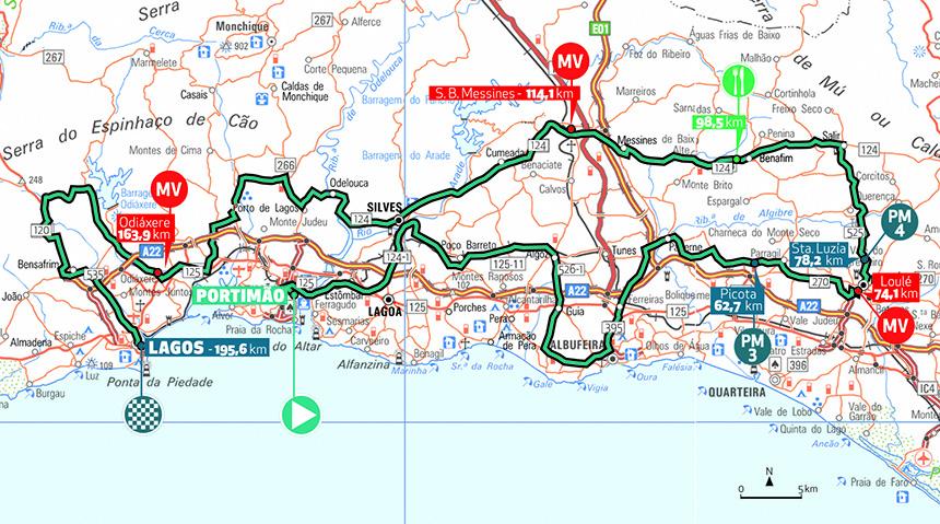 Stage 1 Volta Ao Algarve